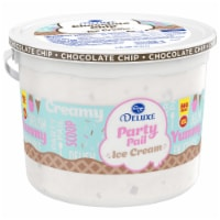 Kroger® Deluxe Party Pail Chocolate Chip Flavored Ice Cream Family Size - 1.25 gal