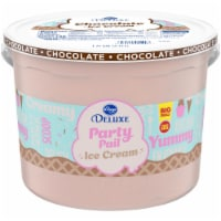 Kroger® Deluxe Churned Chocolate Naturally & Artificially Flavored Ice Cream
