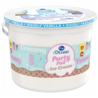 Kroger® Deluxe Churned Vividly Vanilla Naturally & Artificially Flavored Ice Cream