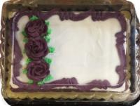 Bakery Fresh Goodness 1/4 Sheet Chocolate Cake - 47 oz
