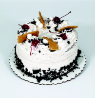 Bakery Fresh Goodness Chocolate Double Layer Cake with White Whipped Icing