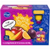 Kroger® Tropical Fruit Apple Sauce Pouches