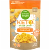 Simple Truth™ Keto Cheddar Cheese Crisps