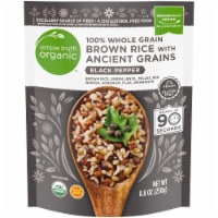 Simple Truth Organic™ Black Pepper 100% Whole Grain Brown Rice with Ancient Grains