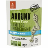 Abound Grain Free Limited Ingredient Small Dog Dental Chews 20 Count