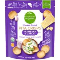 Simple Truth Organic™ Double Baked Parmesan & Garlic Pita Crisps - 7 oz