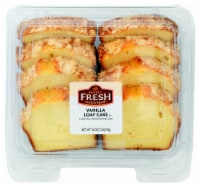 Bakery Fresh Goodness Vanilla Sliced Loaf Cake