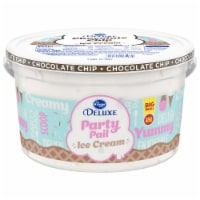 Kroger® Deluxe Party Pail Chocolate Chip Flavored Ice Cream Family Size - 1 gal