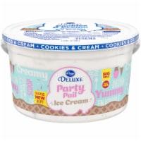 Kroger® Deluxe Party Pail Cookes & Cream Ice Cream