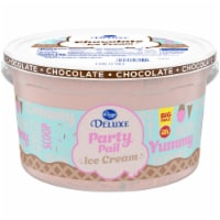 Kroger® Deluxe Party Pail Chocolate Flavored Ice Cream Family Size - 1 gal
