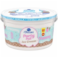 Kroger® Deluxe Party Pail Vividly Vanilla Ice Cream Family Size - 1 gal