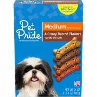 Pet Pride® Gravy Basted Medium Dog Treats - 24 oz