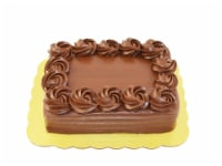 Bakery Fresh Goodness Rosette Border Chocolate Sheet Cake