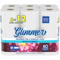 Glimmer™ Select-A-Sheet Big Roll Paper Towels - 6 rolls