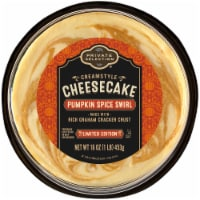 Private Selection® Pumpkin Spice Swirl Creamstyle Cheesecake