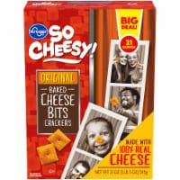 Kroger® So Cheesy! Original Baked Cheese Bits Crackers - 21 oz