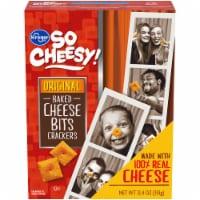 Kroger® So Cheesy! Original Baked Cheese Bits Crackers - 12.4 oz