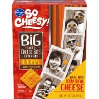 Kroger® So Cheesy! Original Big Baked Cheese Bits Crackers - 11.7 oz