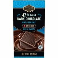 Private Selection® Hint of Sea Salt Swiss Dark Chocolate Bar - 3.5 oz