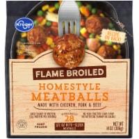 Kroger® Flame Broiled Homestyle Meatballs - 14 oz