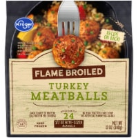 Kroger® Flame Broiled Turkey Meatballs - 12 oz