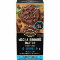 Private Selection® Mocha Brownie Batter Cookies - 6 oz