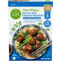 Simple Truth™ Plant Based Korean Style Meatless Meatballs - 11 oz
