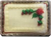 Bakery Fresh Goodness Decorated Red Velvet Sheet Cake