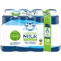 Simple Truth Organic® 1% Low Fat Milk - 12 bottles / 8 fl oz
