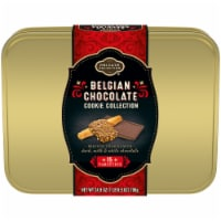 Private Selection Belgian Chocolate Holiday Cookie Tin