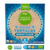 Simple Truth Organic™ Taco Size Wheat Flour Tortillas 6 Count