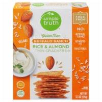 Simple Truth® Gluten Free Buffalo Ranch Rice & Almond Thin Crackers - 3.5 oz