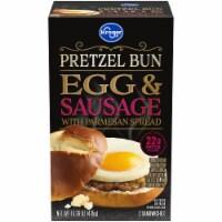 Kroger® Pretzel Bun Egg & Sausage Breakfast Sandwich