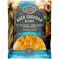 Private Selection® Aged Cheddar Blend Thick Cut Shredded Cheese - 8 oz