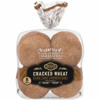 Private Selection® Cracked Wheat Extra Large Sandwich Buns