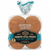 Private Selection® Country Style Potato Extra Large Sandwich Buns 8 Count