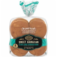Private Selection® Sweet Hawaiian Extra Large Sandwich Buns 8 Count