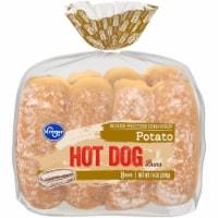 Kroger® Potato Hot Dog Buns - 8 ct / 14 oz