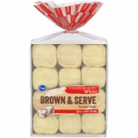 Kroger® White Brown & Serve Enriched Rolls - 12 Count
