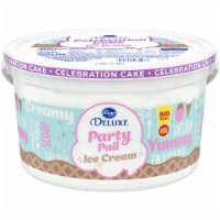 Kroger® Deluxe Party Pail Celebration Cake Ice Cream Family Size