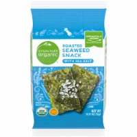 Simple Truth Organic™ Roasted Seaweed Sea Salt Snack