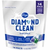 Kroger® Diamond Clean Automatic Dishwashing Pacs - 14 ct