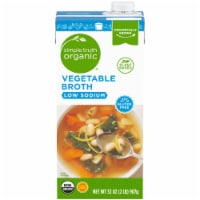 Simple Truth Organic® Gluten Free Low Sodium Vegetable Broth - 32 oz
