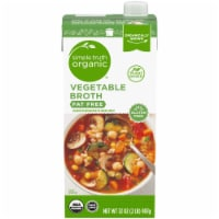 Simple Truth Organic® Fat Free Vegetable Broth