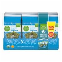 Simple Truth Organic® Roasted Seaweed Snack with Sea Salt Value Pack - 6 ct / 0.17 oz