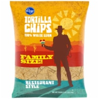 Kroger® 100% White Corn Restaurant Style Tortilla Chips - 18 oz