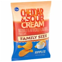 Kroger® Ripples Cheddar & Sour Cream Potato Chips
