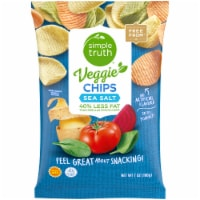 Simple Truth® Sea Salt Veggie Chips
