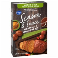 Kroger® Season & Sauce Ancho Chile with Rojo Mole Meatball & Meatloaf Kit