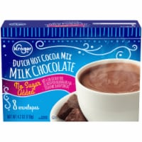Kroger® No Sugar Added Milk Chocolate Dutch Hot Cocoa Mix - 4.2 oz